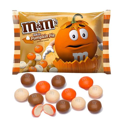 M&M's White Pumpkin Pie 8oz Bag