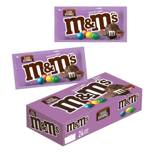 M&M's Fudge Brownie 24 Count