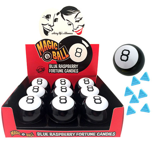 Magic 8 Ball Fortune Candy 9 Count
