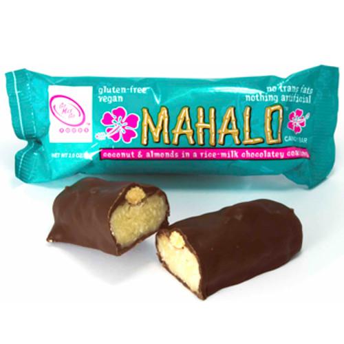 Mahalo Vegan Candy Bars 12 Count