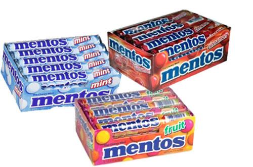 Mentos Chewy Mints 15ct - Choose Flavor