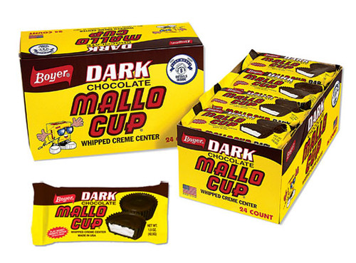 Mallo Cup Dark Chocolate 24 Count
