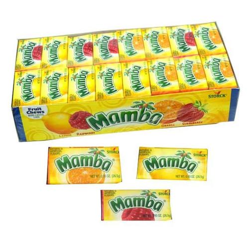 Mamba Original Fruit Chews 48 Count
