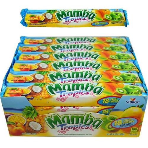Mamba Tropical Fruit Chews 24 Count