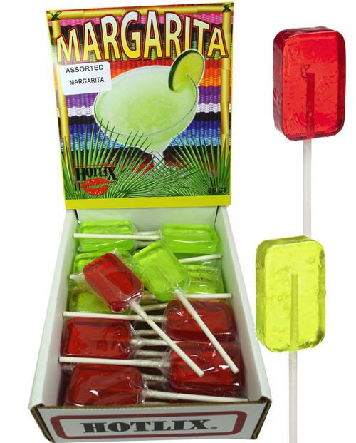 Margarita Suckers Assorted Lollipops 36 Count