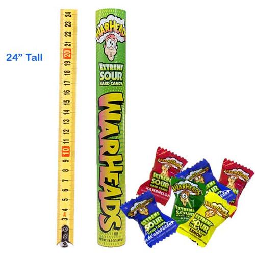 Mega Tube Bank Warheads Candy (2 Feet Tall)