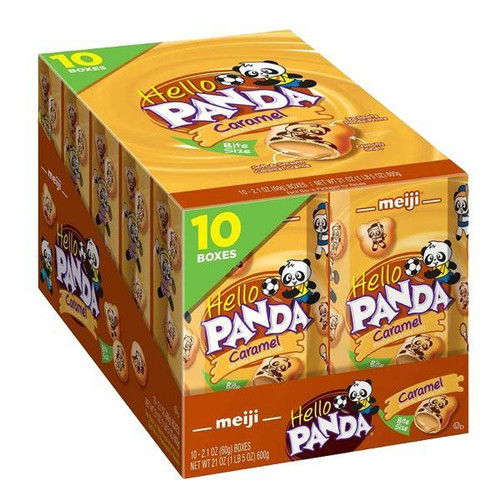 Meija Hello Panda Caramel 10 Packs