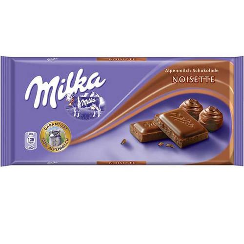 Milka Noisette 3.5oz Bar (Import)