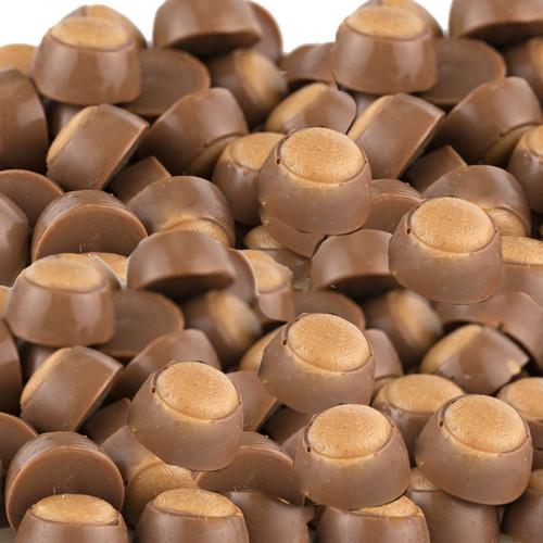 Buckeyes Mini Milk Choc Peanut Butter 10lb