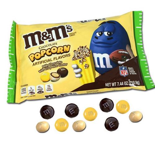 M&M's Chocolate Popcorn 7.44oz Bag