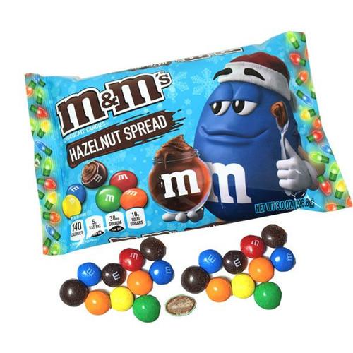 M&M's Hazelnut Holiday 8oz Bag