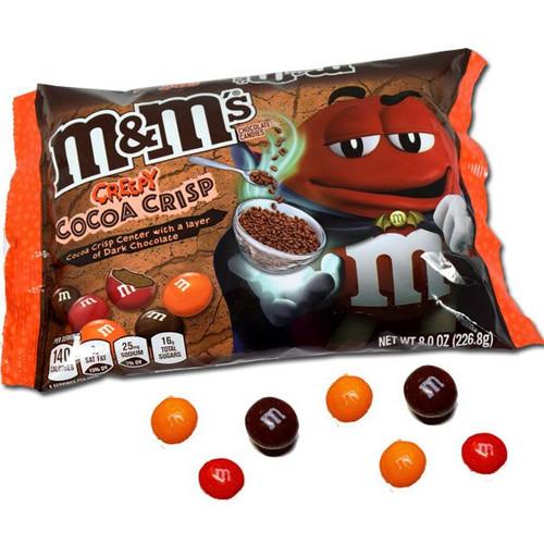 M&M's Creepy Cocoa Crisp Dark Chocolate 8oz Bag