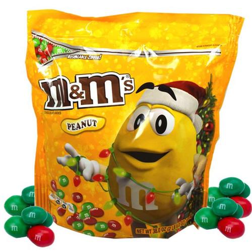 M&M's Peanut Christmas Mix 38oz Bag