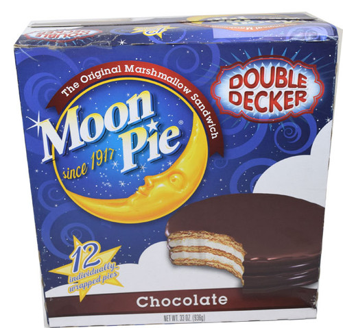 Moon Pies Chocolate 12 Count