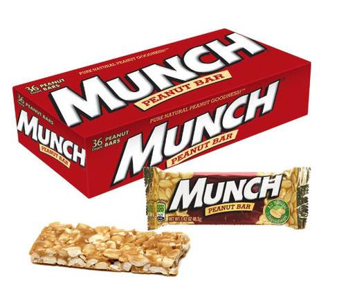 Munch Peanut Bar 36 Count