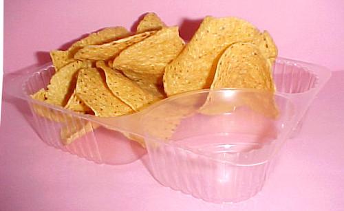 Nacho's Plastic Serving Trays 50ct