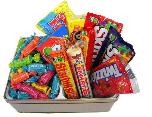 Candy Lovers Non Chocolate Gift Tin