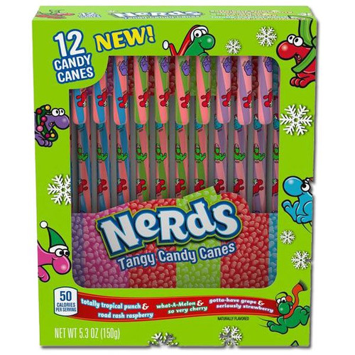 Nerds Candy Canes 12 Count