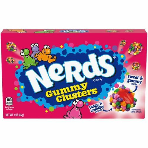 Nerds Clusters 3oz Box