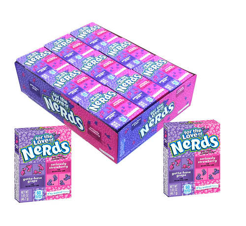 Nerds Grape/Strawberry 36 Count