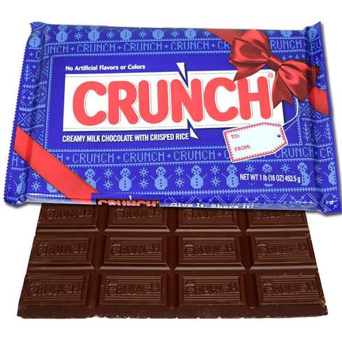 Nestle Crunch Holiday Big Bar Gift 1lb