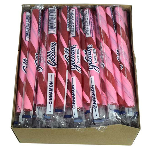 Old Fashion Candy Sticks Cinnamon 80 Count - Gilliam
