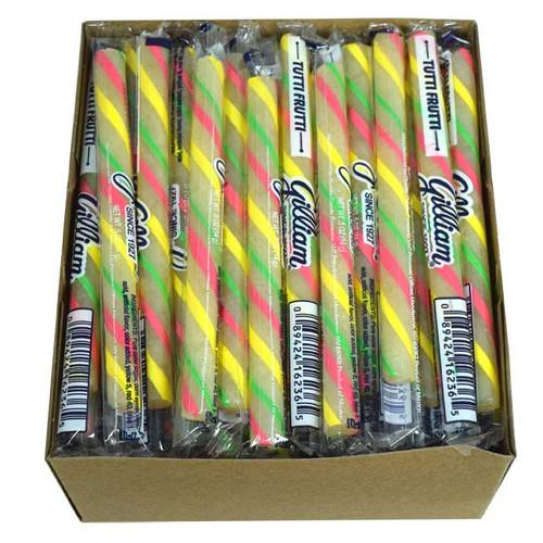 Old Fashion Candy Sticks Tutti Fruti 80 Count - Gilliam
