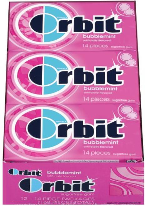 Orbit Sugarless Gum 12ct - Bubblemint