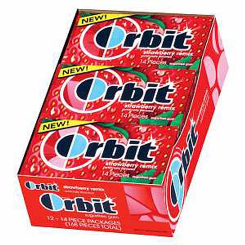 Orbit Strawberry Remix  12ct