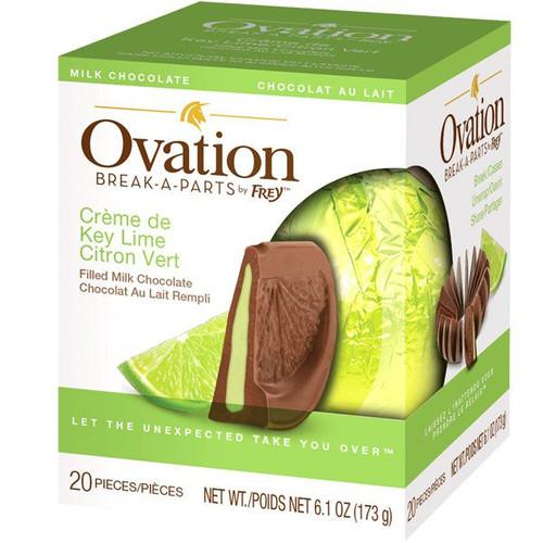 Ovation Creme De Key Lime Milk Chocolate 6.17oz Ball