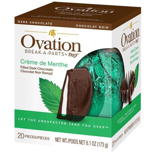 Ovation Creme De Menthe Dark Chocolate 6.17oz Ball
