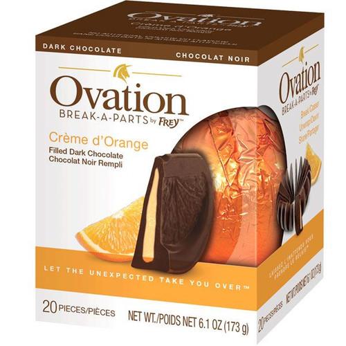Ovation Creme De Orange Dark Chocolate 6.17oz Ball