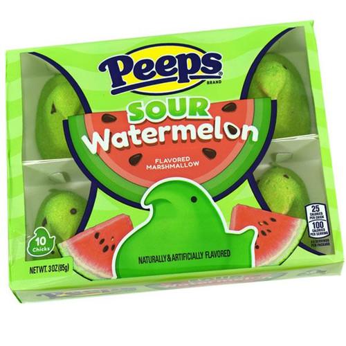 Peeps Sour Watermelon 10 Count