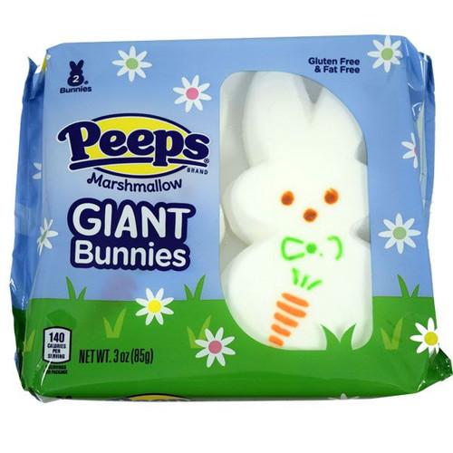 Peeps Giant Bunnies 2 Count