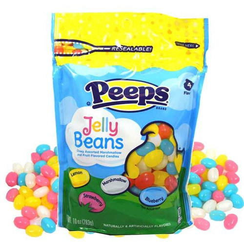 Peeps Jelly Beans Assorted 10oz Bag