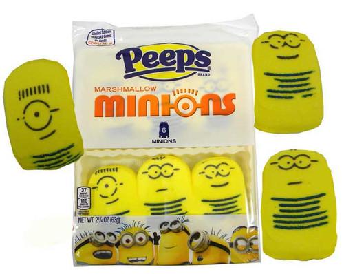 Peeps Minions 6 Count