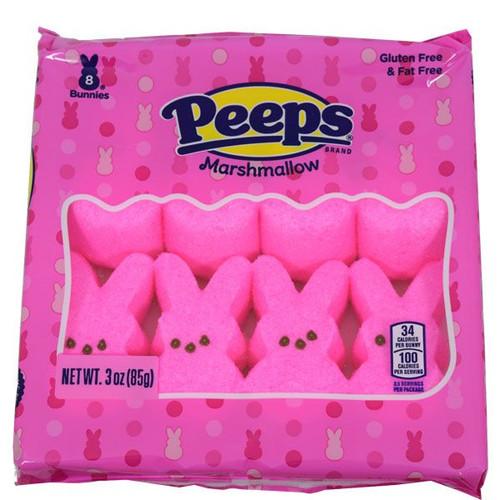 Peeps Pink Bunnies 8 Count