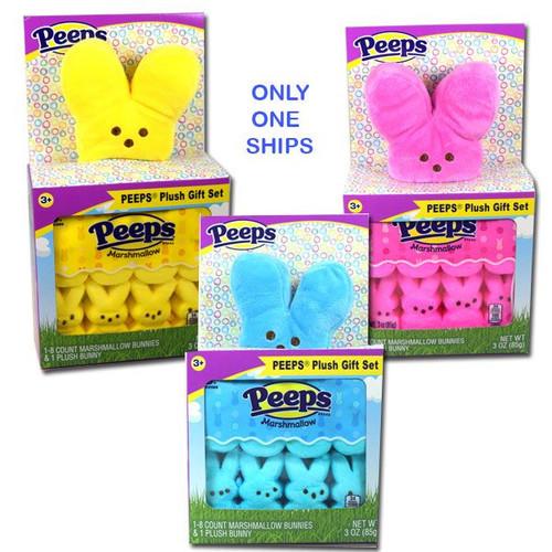 Peeps Candy & Plush Bunny Gift Set