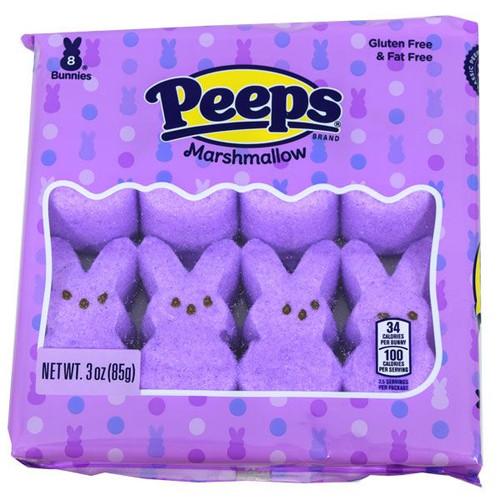 Peeps Purple Bunnies 8 Count