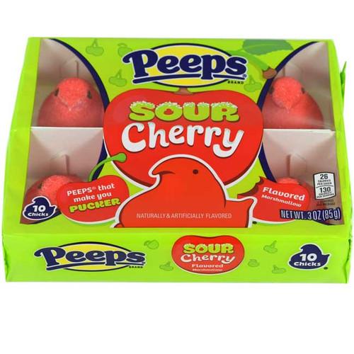 Peeps Sour Cherry 10 Count