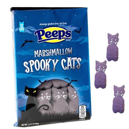 Peeps Spooky Cats 12 Count