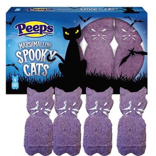 Peeps Spooky Cats 4 Pack