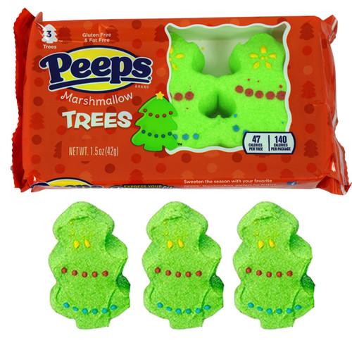 Marshmallow Peeps Trees