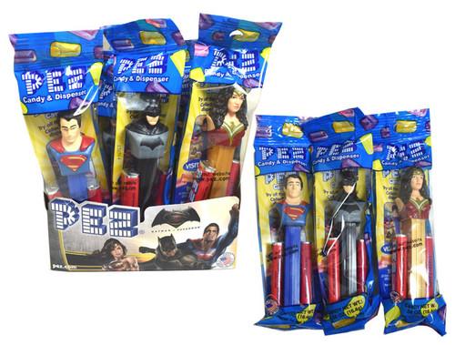 Pez  DC Comics Justice League 12 Count