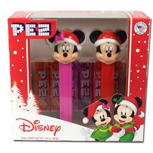 Pez Mickey & Minnie Christmas Set