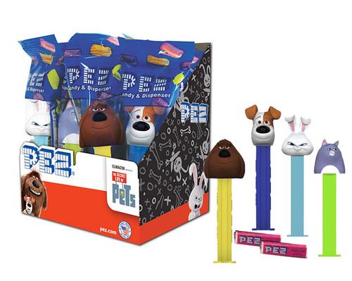 Pez Secret Life Of Pets 12 Count