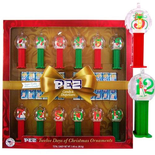 Pez 12 Days Of Christmas Gift Set
