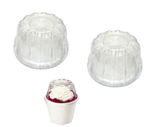 Plastic Dome Lids 50 Count