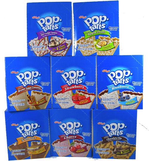 Pop Tarts 6pk - Choose Your Flavor
