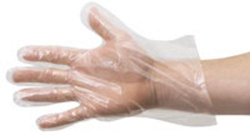Plastic Disposable Gloves 500ct (Light Duty)